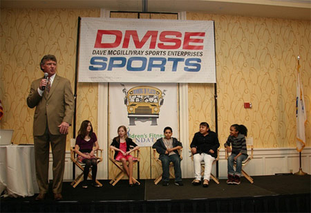 Billy the Coach at the DMSE Gala